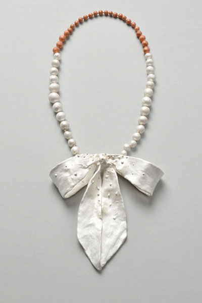 Constanze Schreiber necklace 'renske' 2009 silver, copper, gold, silk.jpg