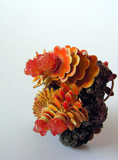 Helen BRITTON - 'burning garden' brooch 2005 - silver, glass, paint, plastics.jpg