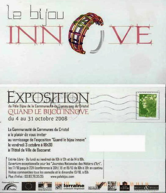 Pole Baccarat - EXPO qd le bijou innove - oct 2008