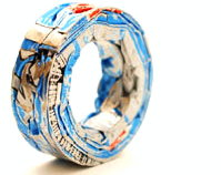 poor- soda can ring by mason douglas (lives and works in washington, usa)