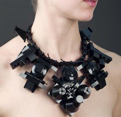 Emiko oye  - lego necklace