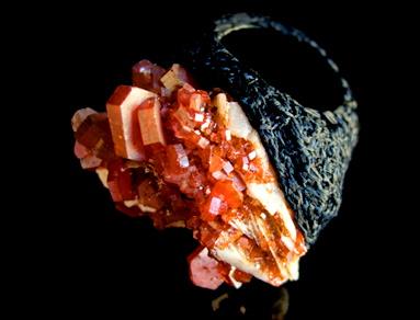 AOI KOTSUHIROI, rings from crystals, stones,