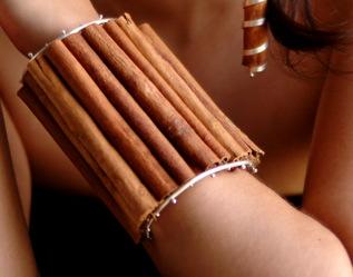 Cinnamon (cannelle) bracelet (vu sur www.Popgloss)