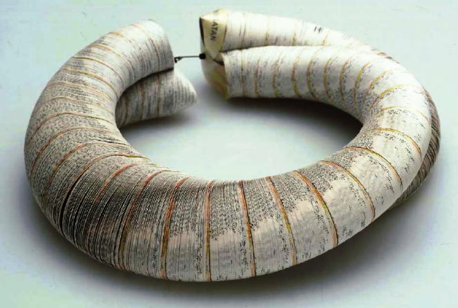 Janna Syvanoja - LUCCA Preziosa- recycled paper necklace