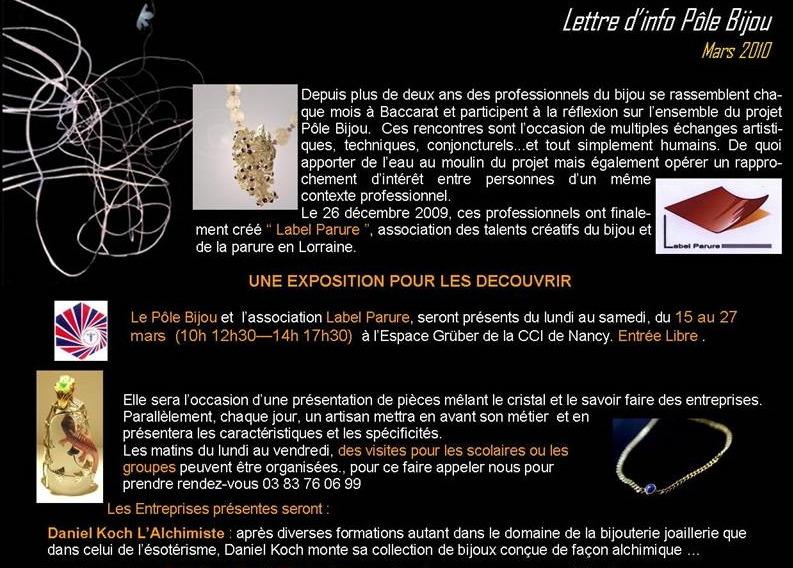 Pole Bijou - lettre d'info Mars 2010 - 1.jpg