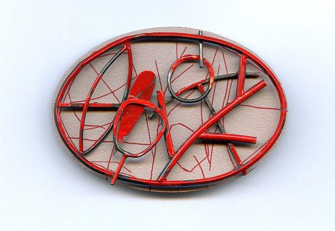 nº 1072 Ramon Puig Cuyàs, Brooch, 2005. Silver, plastic acrylic painting..JPG