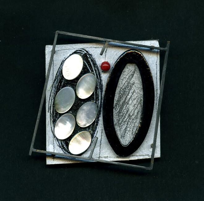 nº 1166 'Mare ovalis', brooch, 2007