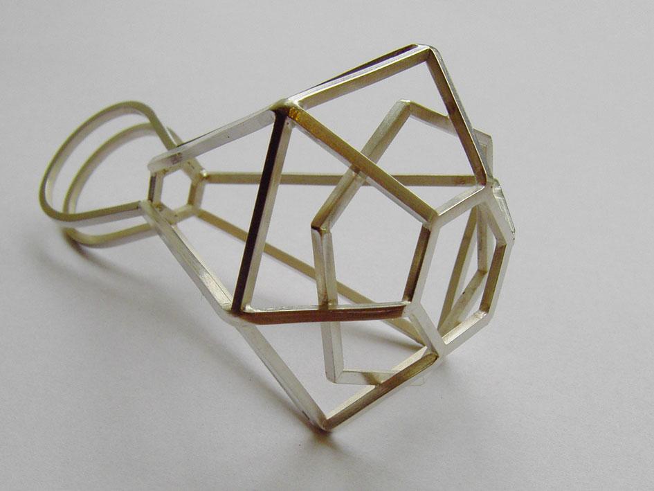 Sabine Lang - skelett ring