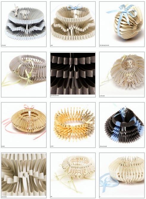 SALOUKEE- sarah louise kelly_saloukee - paper jewelry