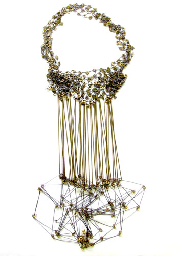 Seth Papac - necklace silver & brass