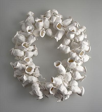 susanne_klemm - necklace 'frozen' 2007 - polyolefin
