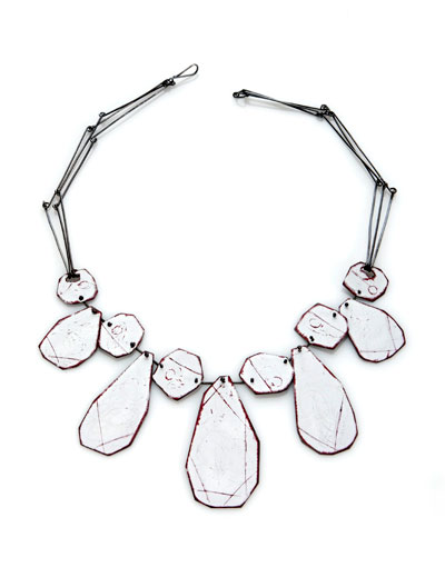 Amy Tavern - necklace, sterling silver, spary - 2009