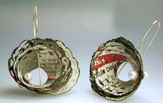 Ela CINDORUK  - let my words be.. earrings