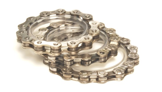 blancheTILDEN RecycledStack bracelet- reclaimed bicycle chain-