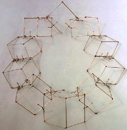 Beate Klockmann - kubus kette (cube necklace)