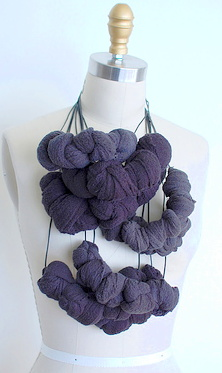 EXPO Fault Lines- Martha McQuade (US), as 'Uniform Natural' -knot necklace