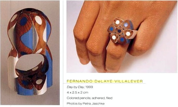 Fernando Delaye Villalever in '1000 rings' book