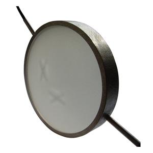 Christophe Burger pendant 'X' silver, plastic