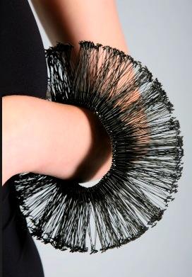 Sharon Vaizer black bracelet