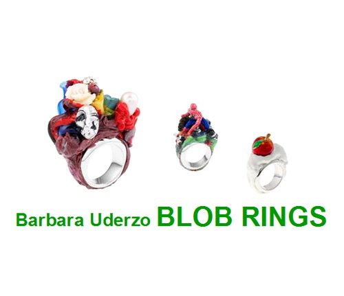 EXPO Barbara Uderzo Blob Rings